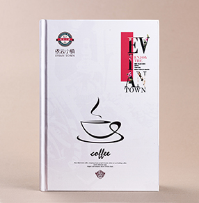眉山依云小镇咖啡谱设计印刷