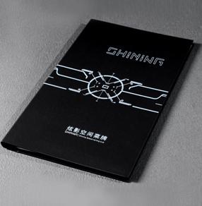 炫影空间日本料理菜牌印刷