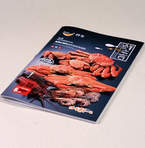 鲜言海鲜餐厅-菜谱设计制作