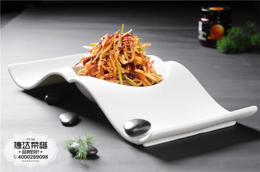XO酱珍菌中餐菜品摄影