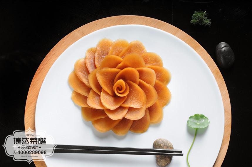 萧山萝卜皮中餐菜品摄影