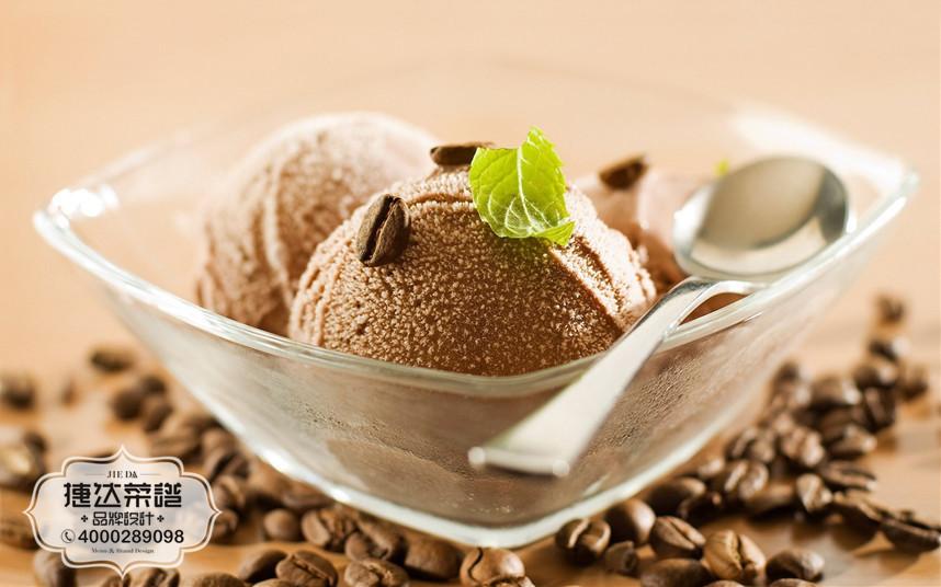 咖啡冰淇淋西餐咖啡菜品摄影图片