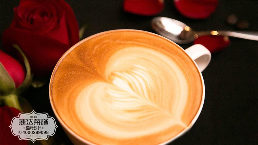 卡布奇诺西餐咖啡菜品摄影图片