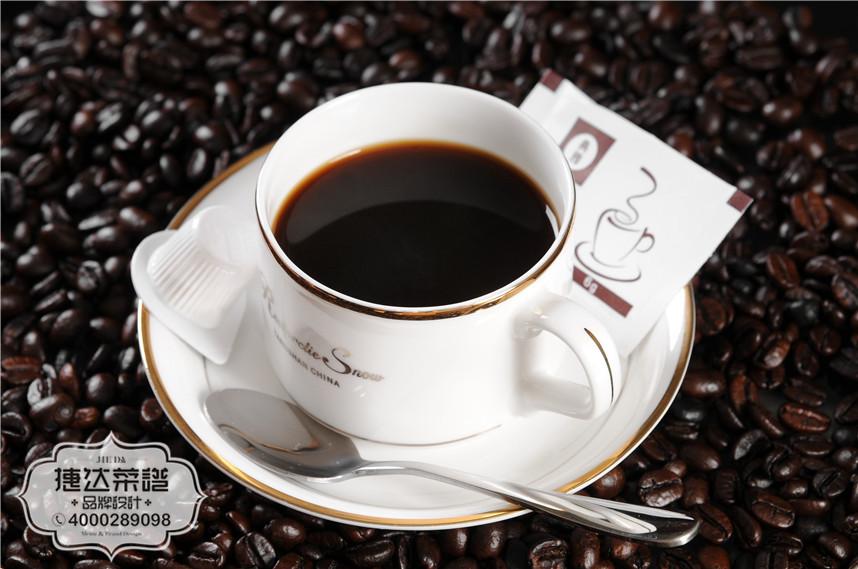 蓝山西餐咖啡菜品摄影图片