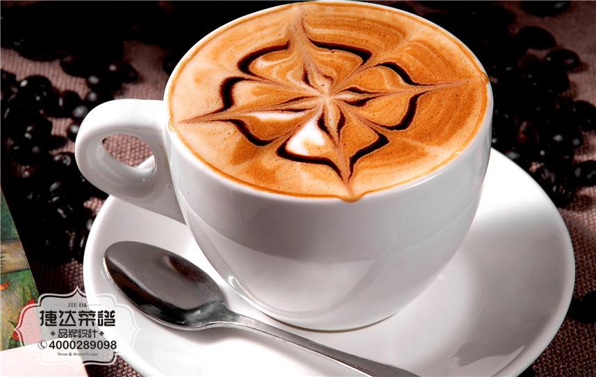 意式摩卡西餐咖啡菜品摄影图片
