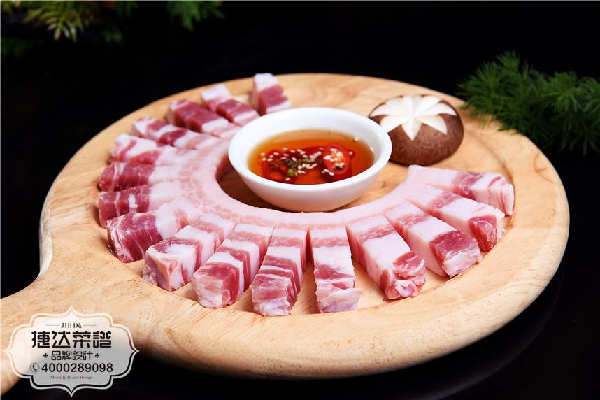 葵花五花排韩泰日料理菜品摄影图片