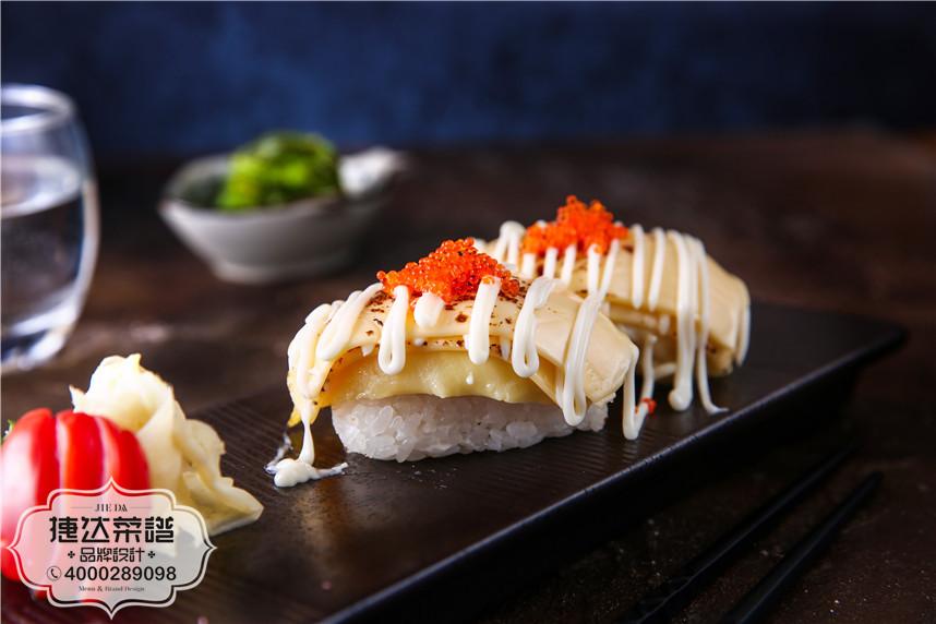 榴莲芝士大赏韩泰日料理菜品摄影图片