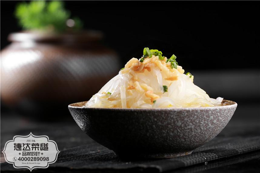 虾米萝卜丝韩泰日料理菜品摄影图片