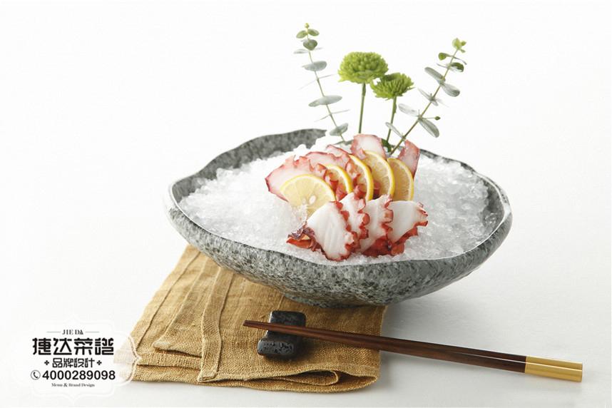 章鱼刺身韩泰日料理菜品摄影图片
