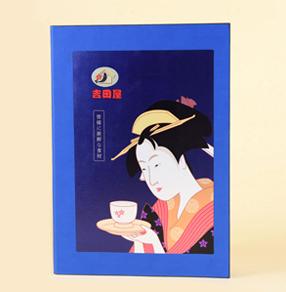 成都吉田屋日式料理高端封皮菜谱制作,日式料理菜单制作哪家好
