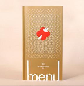 柒声食肆中餐厅菜谱设计,成都精美菜谱制作,捷达菜谱公司