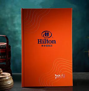 希尔顿酒店菜谱图片展示|如何设计五星级酒店菜谱